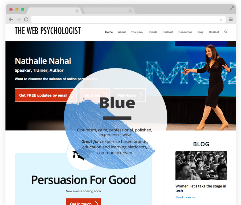 How To Use The Psychology Of Color For Website Design